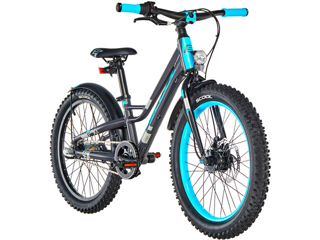 s'cool faXe 20 3-S Børnecykel grå (2019) | City-cykler